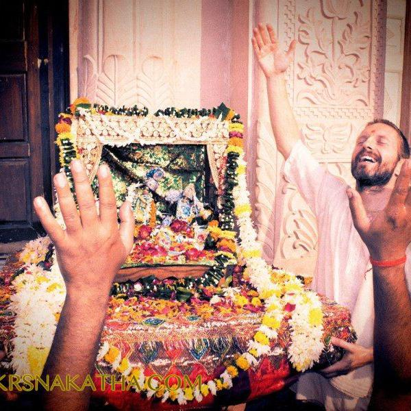 Photo report from the pilgrimage to Vrndavana in India (Vraja Dham) under the direction of Sri Prem Pryojan Prabhu in 2015